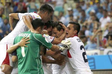 Costa Rica ha sido la gran inesperada en los cuartos | Foto: La Nación CR