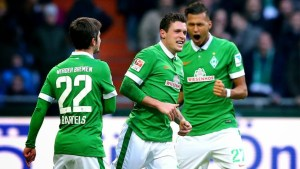 Junuzovic celebra su golazo de falta ante Bayer | Foto: Soccer Highlights Today