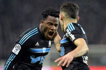 Batshuayi celebra su gol con furia en una temporada dura Foto: rtl.fr