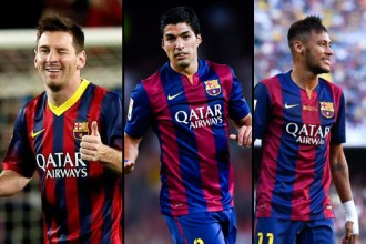 Tridente FC Barcelona
