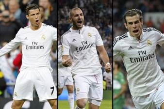 Tridente Real Madrid