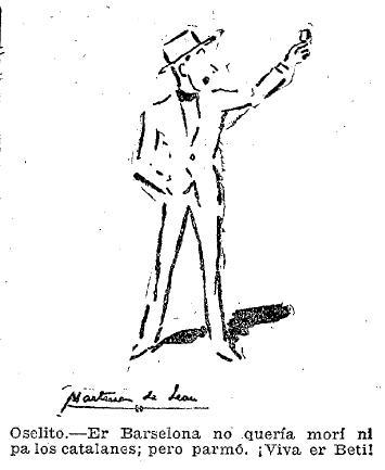 Fuente: ABC 17 de Abril de 1934. Dibujo de Martínez de León.