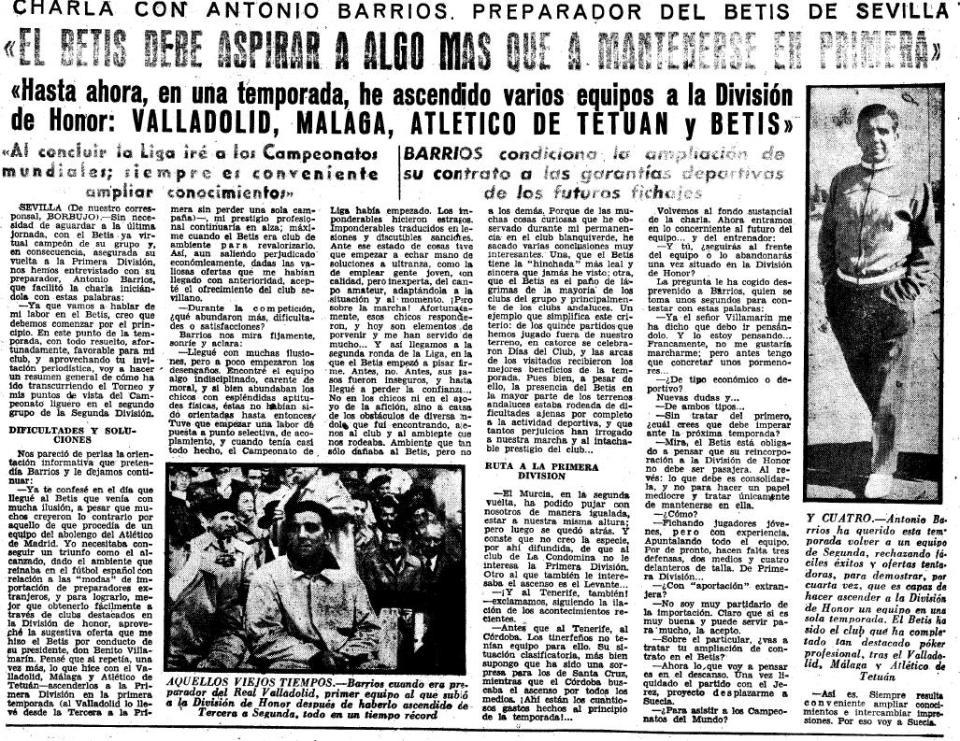 Fuente: Marca 31 de Mayo de 1958