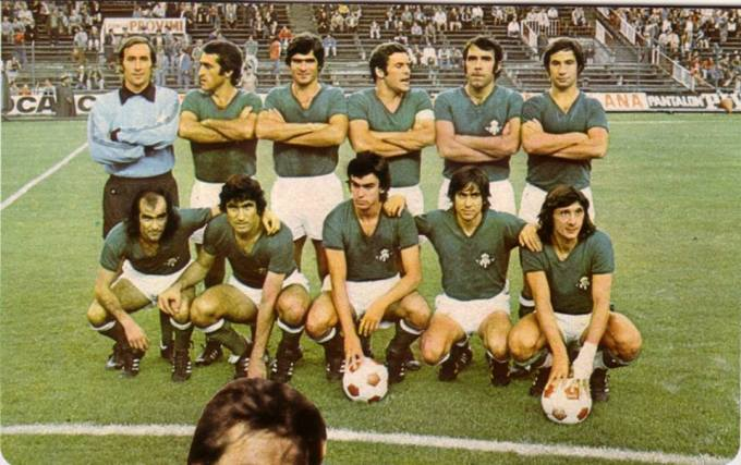 Alineación Atl. Madrid-Betis Liga 1977