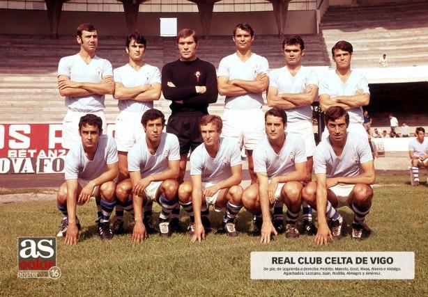 El Celta en la temporada 1970-71