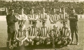 8-11-1964 Triana 6 Ecija 1 Carmet, Pedrito, Flores, Ortiz, Dioni y Antón; Garrido, Quino, Jerónimo, Pumar y Jiménez
