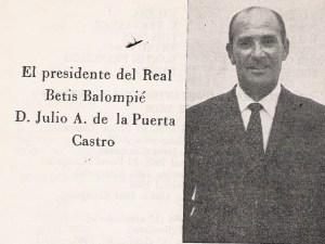 Julio De la Puerta Castro