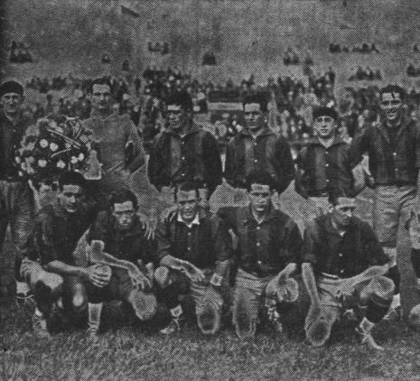 Fuente: La Unión 26 de mayo de 1929. Alineación del Rampla Juniors