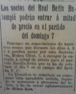 Fuente: El Liberal 5 de octubre de 1928