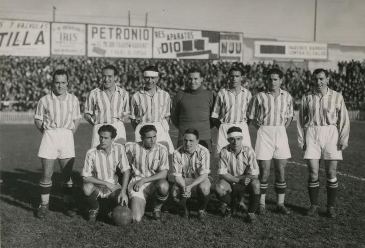 Alineación Real Madrid-Betis Liga 1936 (NMP)