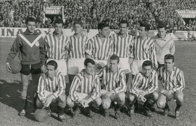 Alineación Betis-Tenerife Liga 1957