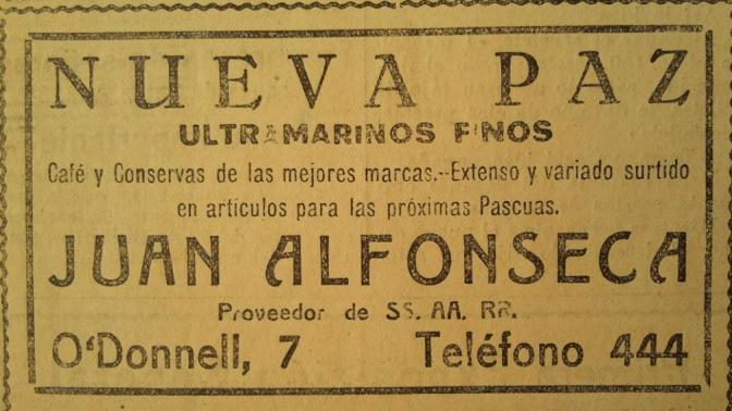 Fuente: El Liberal Diciembre de 1924