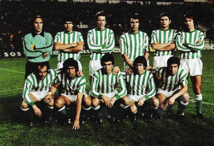 Arriba: Esnaola, Biosca, Murhen, Sabaté, Gordillo y Anzarda. Abajo: García Soriano, Alabanda, Eulate, Cardeñosa y López