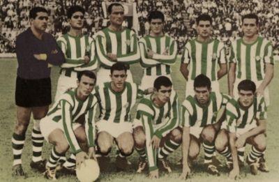 Alineación Betis-Deportivo Liga 1964