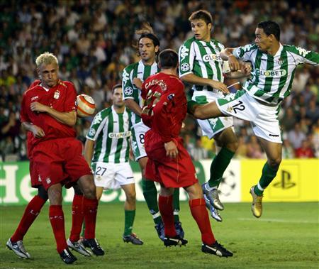 Ataque infructuoso del Betis