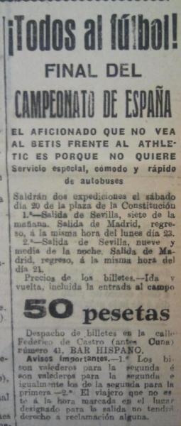 Fuente: El Liberal 18 de junio de 1931