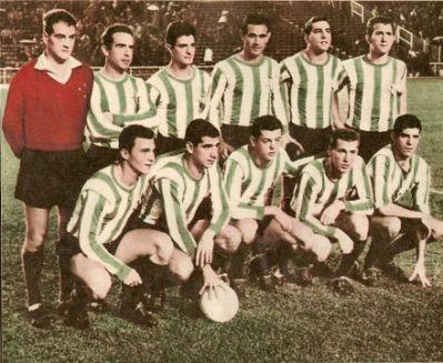 Agosto 16 Alineación Real Madrid-Betis Liga 1961