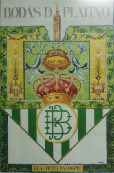 Cartel Bodas de Platino 1982