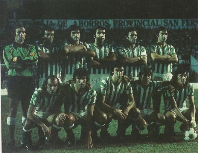 Alineación Betis-Milan Recopa 1977