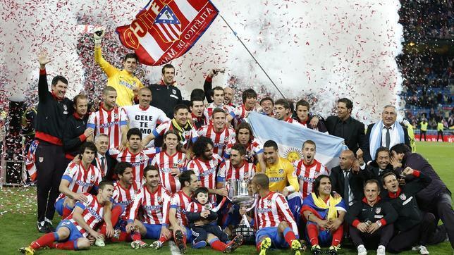 El Atlético Campeón de Copa 2013