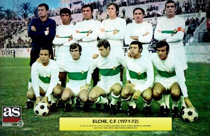 El Elche en la temporada 1971-72