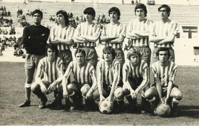 Alineación Betis juvenil 1973