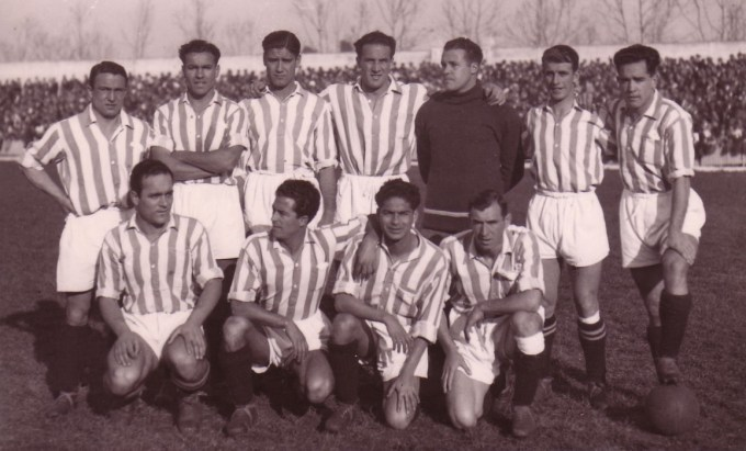 Alineación Sevilla-Betis Liga 1935 (NMP)