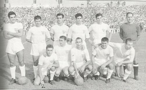 El Sevilla en la temporada 1957-58