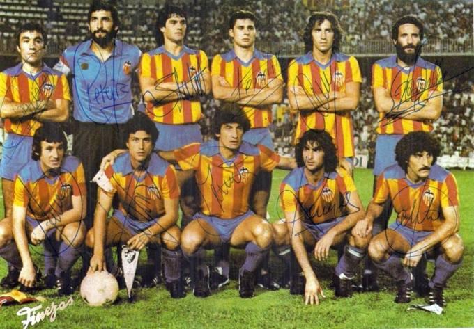El Valencia en la temporada 1980-81
