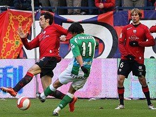 Mayo-16 Osasuna-Betis Liga 2008 gol de Mark González
