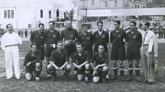 España-Brasil Italia 1934