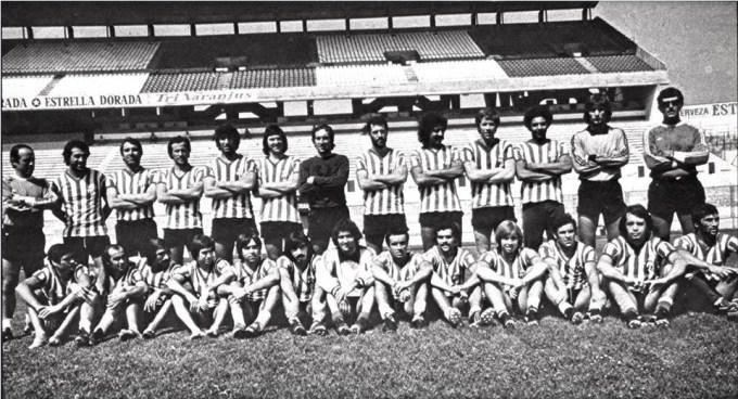 Plantilla temporada 1979-80
