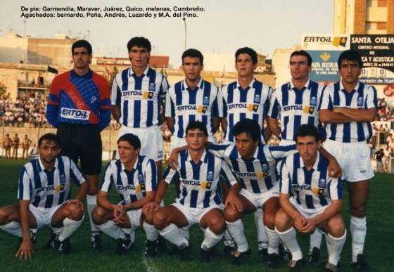 El Recreativo en la temporada 1988-89