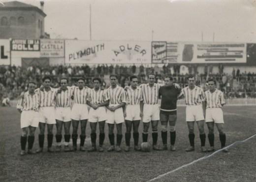 Alineación Madrid-Betis Liga 1934 (NMP)