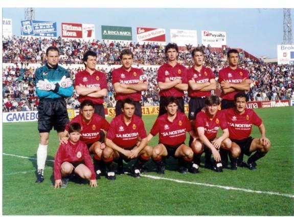 El Mallorca en la temporada 1991-92
