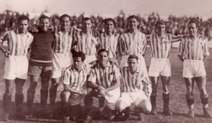 Alineación Betis-Athletic Liga 1935