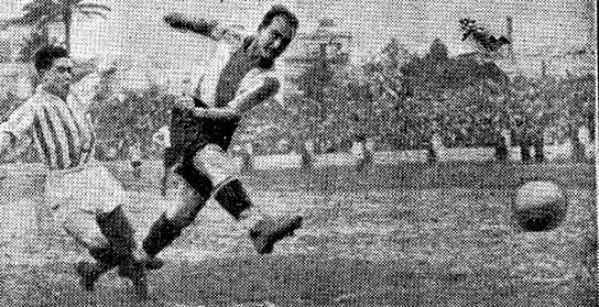 Hoy hace 85 años. La Liga que ganamos. CD Español 1 Betis Balompié 1.