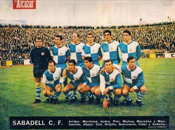 El Sabadell en la temporada 1967-68
