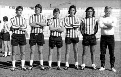 Fichajes 1974  Díaz, Lobato, Cardeñosa, Cuiñas, Blanco y Szusza