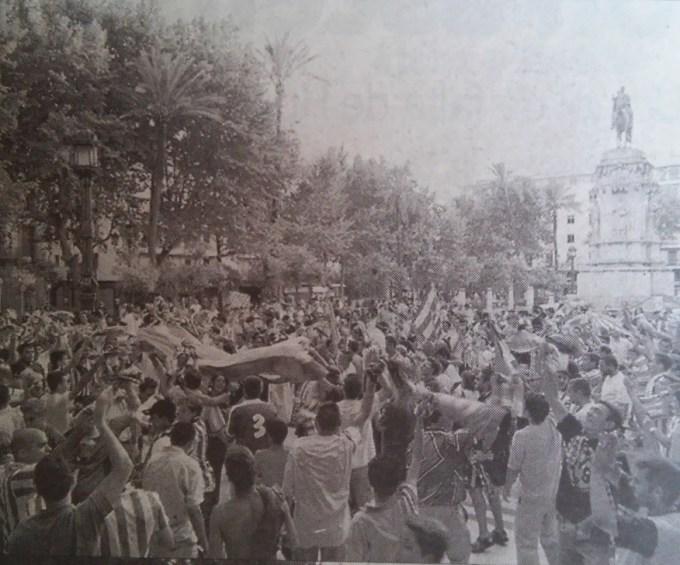 Celebración Plaza Nueva ascenso-1 2001