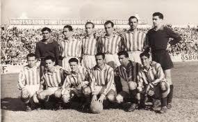 Alineación Betis-Atl. Malagueño 1951 5-0
