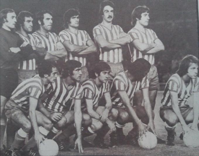 Alineación Real Madrid-Betis Liga 1974-1