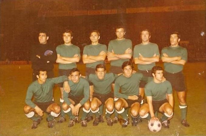 Alineación Valencia-Betis Copa 1971