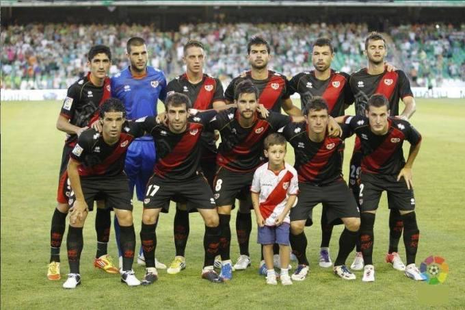 El Rayo Vallecano en la temporada 2012-13