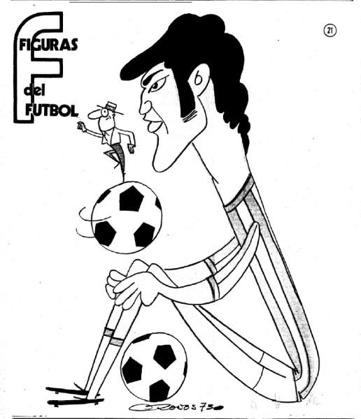 Figuras del Fútbol. Rogelio Sosa