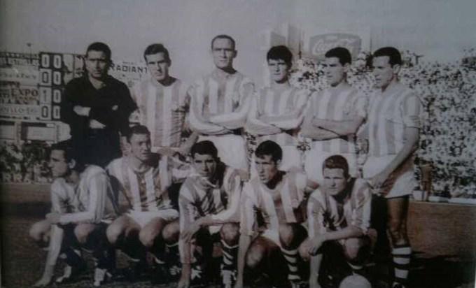 Alineación Betis-Sevilla Liga 1964