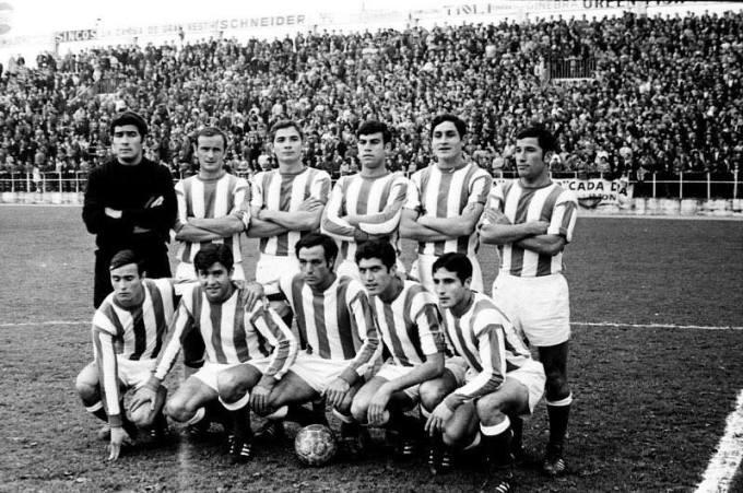 Alineación Sporting-Betis Liga 1969
