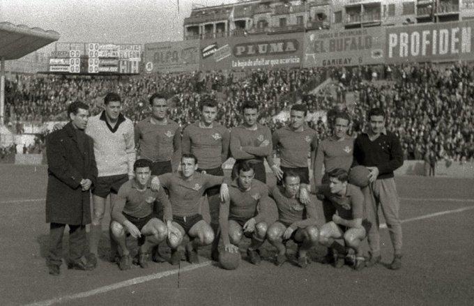 Alineación Real Sociedad-Betis Liga 1961