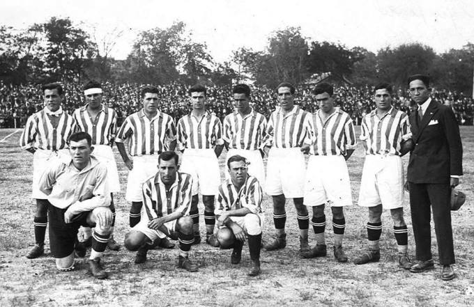 Alineación Sevilla-Betis Regional 1927