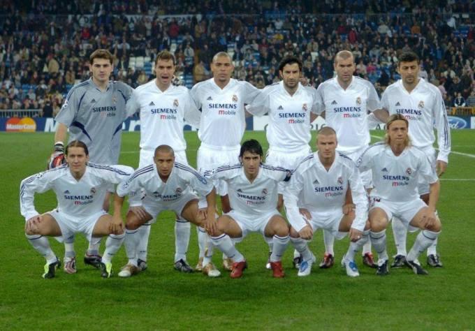 El Real Madrid en la temporada 2004-05